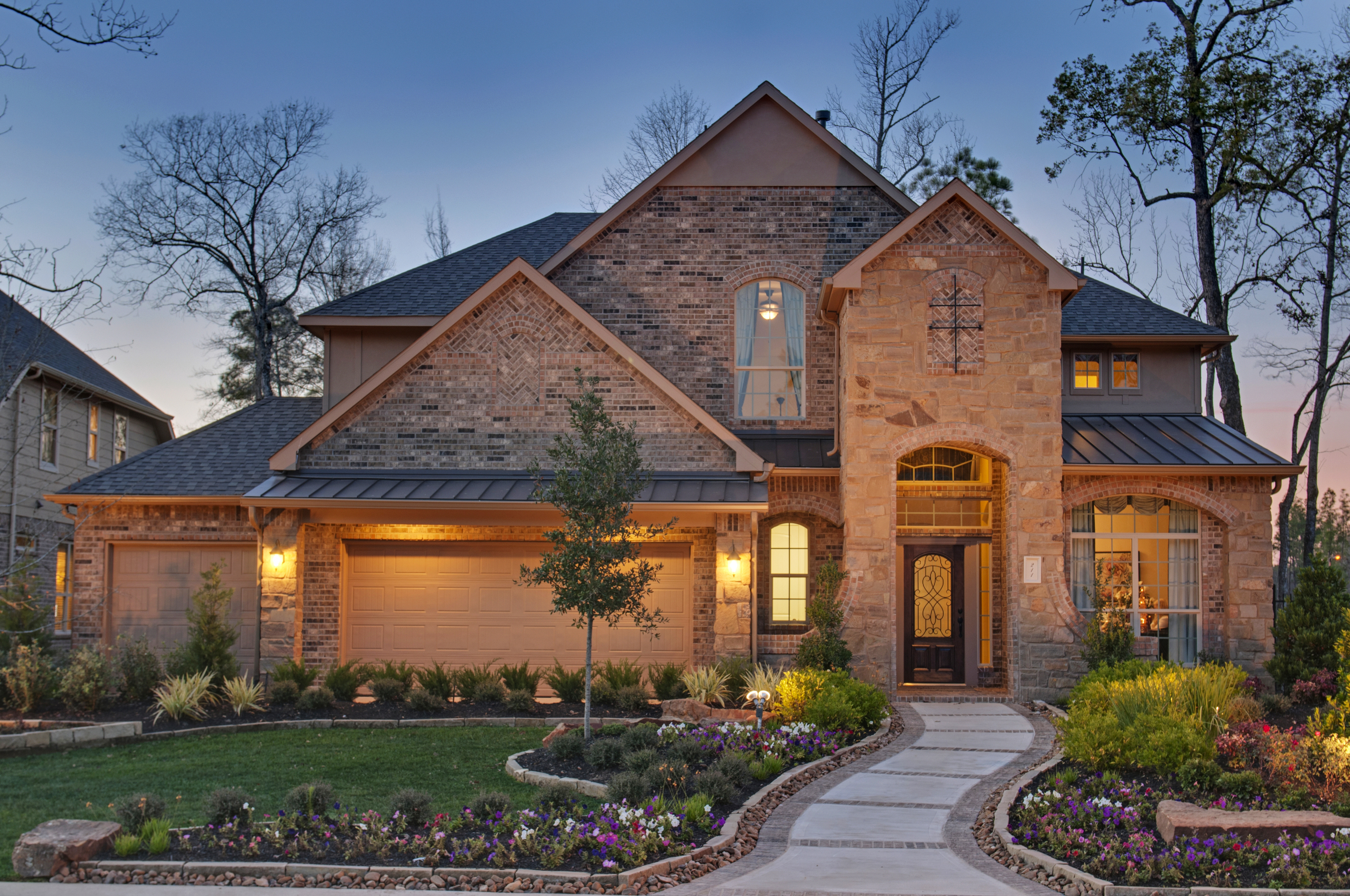 New Home Builders in Woodforest Community - Lennar Townhome Floor Plans