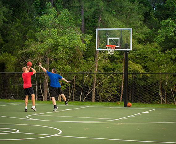 Basketball Court | Woodforest Development